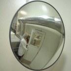 Securikey M18038J Interior Acrylic Convex Wall Mirror 450mm - Food processing Safety Use