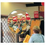 Securikey M18038J Interior Acrylic Convex Wall Mirror 450mm - Security Shop Use