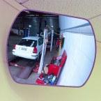 Rectangular Interior Mirror - Securikey Wide Angle 600 x 400 mm - Factory