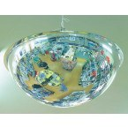 Wide Angle Convex Ceiling Dome Mirror - Securikey 90cm