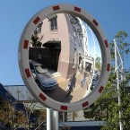 Securikey M18666CS Heavy Duty Convex Traffic Mirror 60cm - Front face