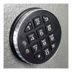 Churchill Magpie M3 Digital Electronic Lock Close up