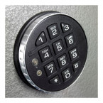 Churchill Magpie M2 Digital Electronic Lock Option Close Up view