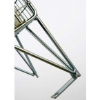 Robinson 16 Door Metal Wire Mesh 1360x1525x457mm Storage Locker - legs