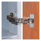 Timberbox Hinge opens through 164 degrees for ease of access