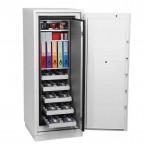 Phoenix Data Commander DS4622E 2 Hour Fire Data Safe Door Open