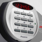Phoenix Vertical Firefile FS2254E - digital lock detail