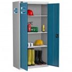 Probe PPE-J High Double Door PPE Storage Cabinet - doors open