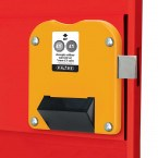 For New and Old £1 Coins - Probe Locker Type H-£1 Coin Lock