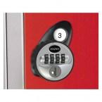 Probe Type P 4 Number Combination Lock