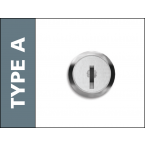 Probe Type A Mastered Key Lock