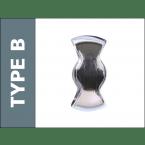 Probe Type B Hasp and Staple for Padlock locking