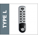 Probe Type L Digital Electronic Lock