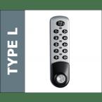 Probe Type L Electronic Digital Lock