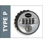 Probe Type P Mechanical Combination Lock