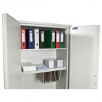 De Raat Protector Plus Fire Resistant Security Cupboard - Interior View