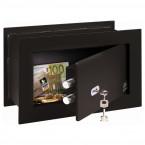 Wall Security Safe - Burg Wachter PW2S PointSafe Key Locking - Prop