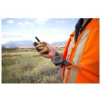 T-Reign TRG432 Kevlar Cord Clip-on belt retractable tool tether with 2 way radio