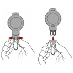 how to use the T-Reign TRG431 Kevlar Cord Karabiner retractable tool tether