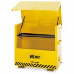 Van Vault Chem Store On-Site COSHH Safety Storage Chest - open