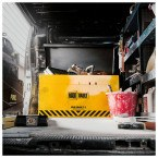 Vehicle Security Box - Van Vault 2 Original - 92cm wide in use