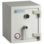 Dudley Harlech Lite S1 Size 00 Insurance Rated Security Safe - door closed