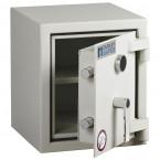 Dudley Harlech Lite S1 Size 00 Insurance Rated Security Safe - door ajar