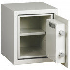 Dudley Harlech Lite S1 Size 00 Insurance Rated Security Safe - door open