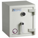 Dudley Harlech Lite S2 Fire Security Safe Size 00 - Door Closed