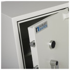 Dudley Harlech Lite S2 Fire Security Safe Size 2  - close up