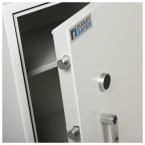 Dudley Harlech Lite Size 3 Insurance Rated Security Safe - close up