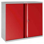 Phoenix SCL0891GRK 2 Door Red Key Locking Steel Storage Cupboard