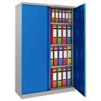 Phoenix SCL1491GBK 2 Door Blue Steel Storage Cupboard | Key Locking