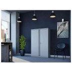 Phoenix SCL1491GGK 2 Door Grey Steel Storage Cupboard | In Use