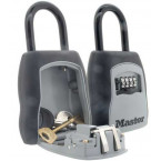 Master Lock 5400D Portable Key Safe open and closed