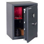 Chubbsafes Senator G1-M3K Grade 1 Key Lock Fire Security Safe - door ajar