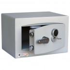 Key Security Safe - Securikey Mini Vault Gold FR 0K - door ajar with key