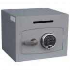 Securikey Mini Vault Silver 1 Deposit Safe Digital lock - Door Closed