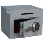 Securikey Mini Vault Silver 1 Deposit Safe Digital lock - Door Ajar