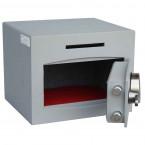 Securikey Mini Vault Silver 1 Deposit Safe Digital lock - Door open