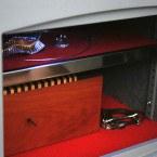 Digital Security Safe - Securikey Mini Vault Silver 2E - interior