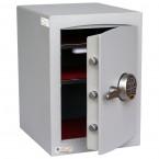 Securikey SFMV2ZE-S Mini Vault Silver Digital Security Safe door ajar