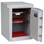 Securikey SFMV2ZE-S Mini Vault Silver Digital Security Safe door open wide