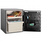 Sentry Safe SFW205GPC 1 Hour Fire and Water Electronic Safe - Door open