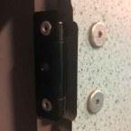 Probe Locker Solid Grade Laminate Inset Door Hinge - internal view
