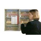 Securikey KC100ZECLIP54 Key Cabinet Digital Cam Lock 100 Keys in use