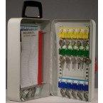 Mobile Key Storage Cabinet 30 Keys - Securikey KH030 - Open