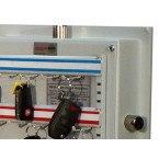 Electronic Key 50 Key Bunches High Security Safe - Securikey KSD50ZE - Coloured Key Hooks