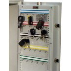 Electronic Key 50 Key Bunches High Security Safe - Securikey KSD50ZE  0 Internal view of door