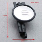 Securikey Portable Convex Inspection 150mm Mirror - Folded